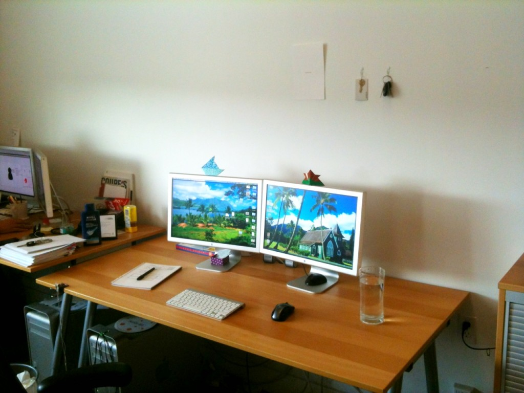 My minimalist workspace
