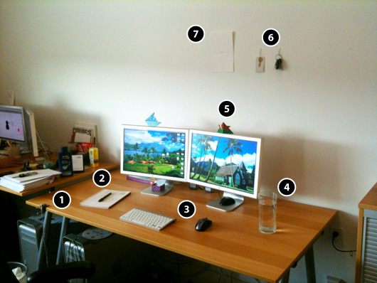 Creating a minimalist workspace part ii brad hussey for Living a minimalist life