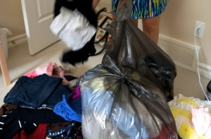 Donating Lots of Clothes