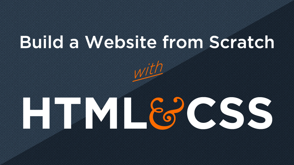 Build a Website from Scratch with HTML & CSS on Udemy