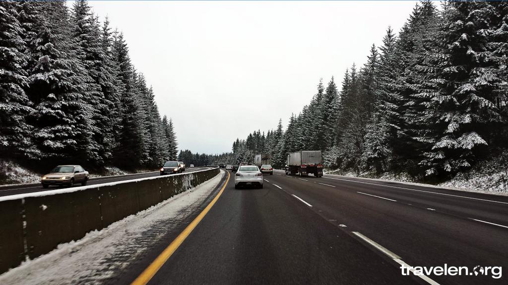 Oregon Snow Storm